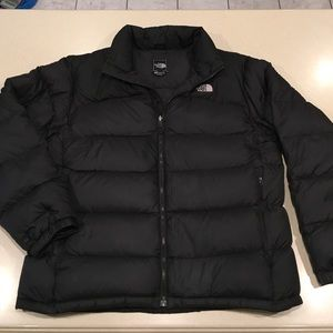 The North Face Black Goose Down 700 Puffer Jacket